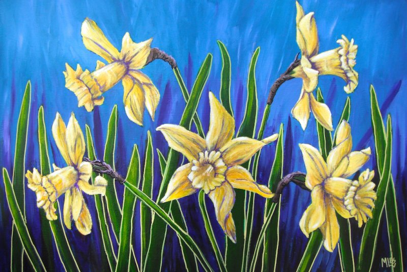 Flower Paintings Floral Art Australia