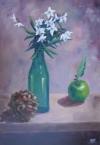 One Green Bottle - Still Life