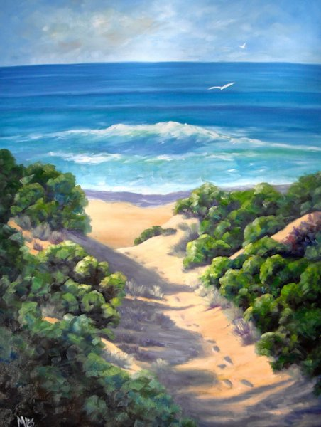 Australian Beach Paintings Amp Seascapes